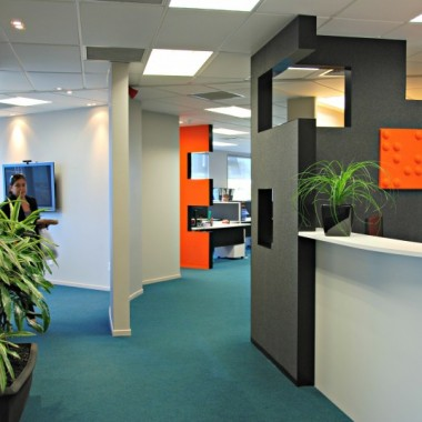 Admin area of Autex Office and Despatch | Commercial Architects | Logan Architects
