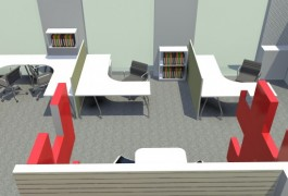 Model of Autex Office and Despatch | Commercial Architects | Logan Architects