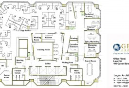 design of GFG Group office | Commercial Architecture | Logan Architects