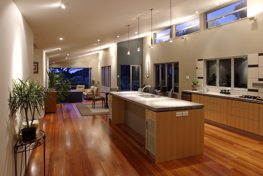 Kitchen View of Kobylarz New Residence and Private Apartment | Residential | Logan Architects