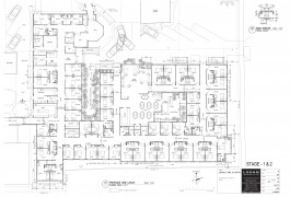 Longsdale House Plan | Longsdale Home and Hospital – Aged Care and High Care Facility | Healthcare Architecture | Logan Architects