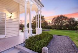 Exterior Sunset Horsefall & Church | Residential | Logan Architects