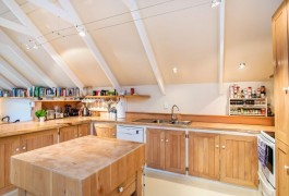 Historic Home Kitchen View | Residential | Logan Architects
